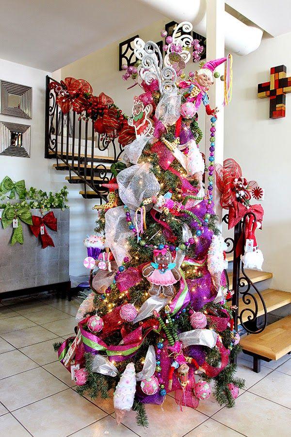 37 mejores im genes sobre rboles de navidad en pinterest - Ver arboles de navidad decorados ...
