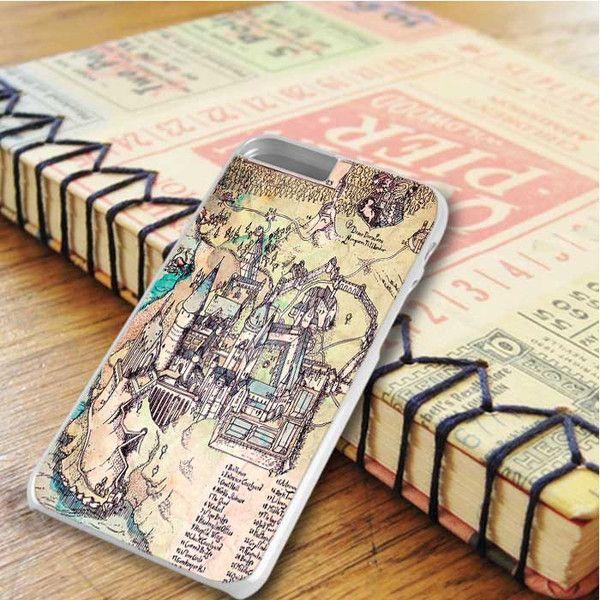 Harry Potter Hogwarts Maps iPhone 6 Plus|iPhone 6S Plus Case