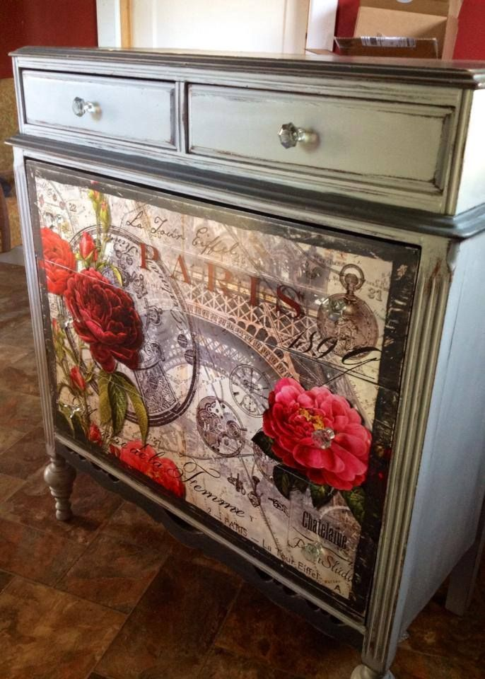 Red Rose of Paris. Webster's Chalk Paint powder. Any brand Any color!