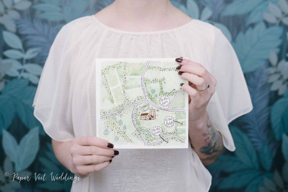 Map Illustration (bespoke hand drawing) by PaperVeilStationery now at https://ift.tt/2Gsjfzz