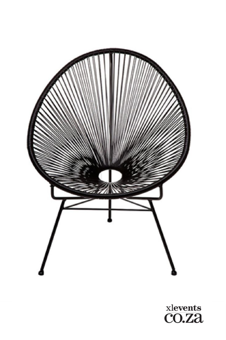 Acapulco woven chair available for hire for your wedding, conference, party or event. Browse our selection of chairs and furniture in our online catelogue.