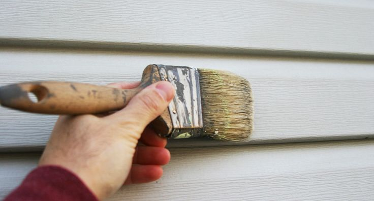 Painting Vinyl Siding - great article with good recommendations for brands & process