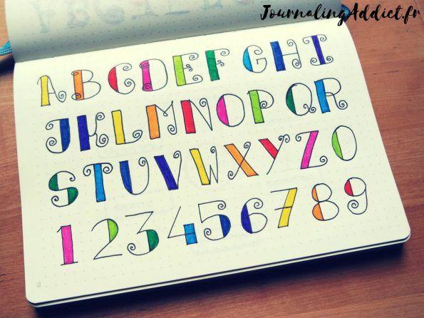 Le lettering peut se traduire par caractères, écriture, lettrage ou calligraphie. J'aime beaucoup les belles écritures et j'adore décorer les pages de mon bujo avec de jolies lettrages. Malheureusement je ne sais pas encore calligraphier à main levée. Mais la bonne nouvelle c'est qu'il est possible d'obtenir de très bons résultats avec un crayon à papier …