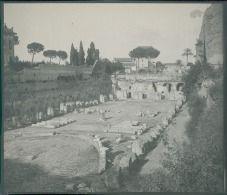Italia, Roma. Monte Palatino, Lo Stadio, ca. 1905  vintage silver print. Italy. …