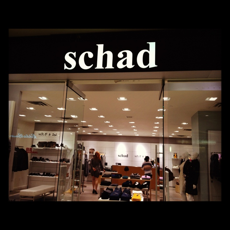 Schad Store at 50 Rideau Street, Ottawa. Be sure to check it out. @chantalschad