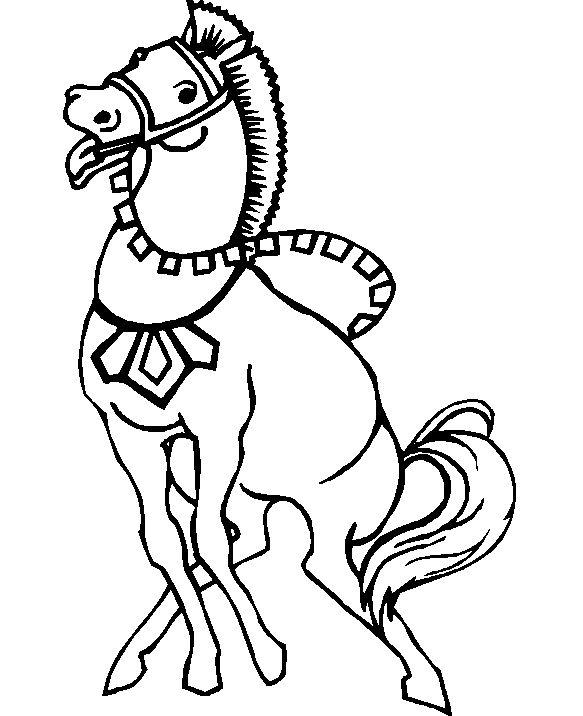 ausmalbilder pferde voltigieren  tiffanylovesbooks