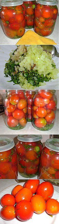 Маринованные помидоры в особом маринаде, с необыкновенным вкусом | Рецепты моей мамы