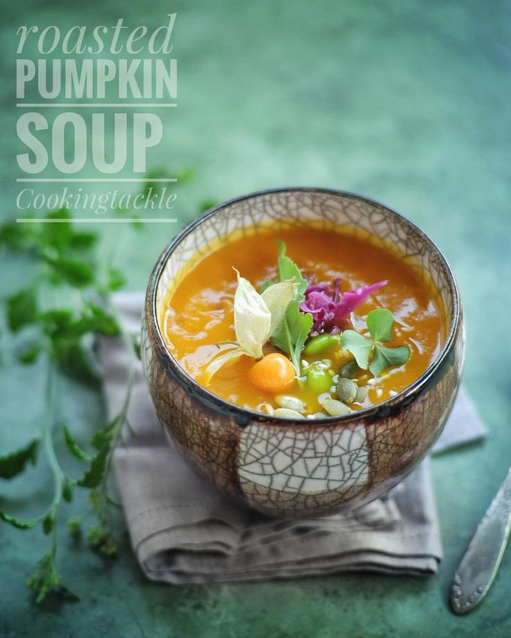"""35 Likes, 2 Comments - Marshalfoodie (@marshalfoodie) on Instagram: """"Homemade roasted pumpkin soup, one of my favorite recipe from Jamie Oliver dot com .  #pumpkinsoup…"""""""