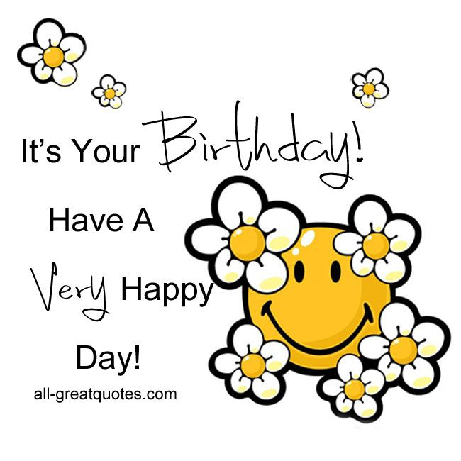 Today Is Your Free Happy Birthday Ecards Greeting: 618 Best Happy Birthday Clipart Images On Pinterest