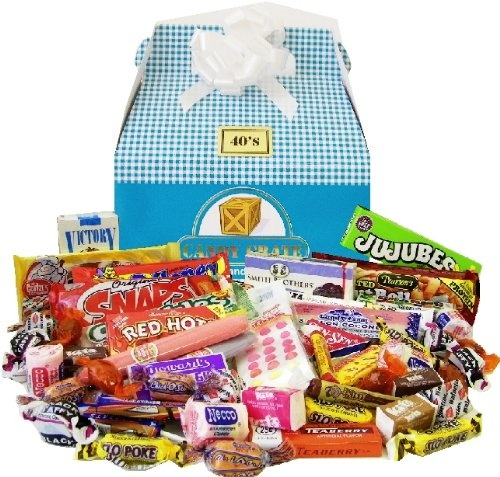 100 best gifts baskets images on pinterest easter gift baskets 1940s easter retro candy gift basket holiday adds negle Choice Image