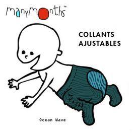 MANYMONTHS – COLLANTS AJUSTABLES en pure laine mérinos