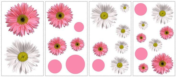 Un sticker atat de realist incat iti da impresia ca poti mangaia petalele florilor la doar o atingere!
