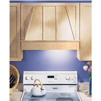 "Range Hoods - 30"" and 36"" Wood Range Hood Front in 6 Wood Types 