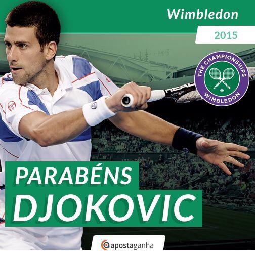#Djokovic  revalida o título em #Wimbledon ao vencer #Federer por 3-1, faturando a sua terceira taça no torneio!  O sérvio soma assim nove títulos do Grand Slam, cinco no Australian Open, um no US Open e três no londrino.  #NovakDjokovic #RogerFederer #ATP #tennis #desporto #apostas #apostasonline #apostasdesportivas