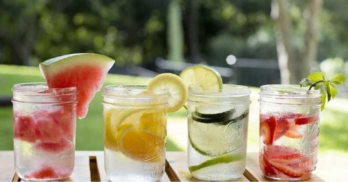 8 svěžích čerstvých limonád