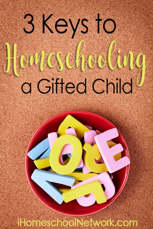 3 Keys to Homeschooling a Gifted Child