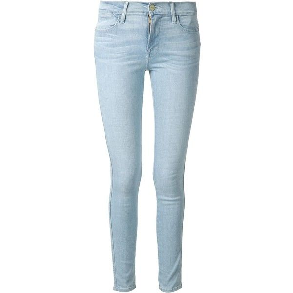 FRAME Denim Jeanne Le High Skinny Jean found on Polyvore