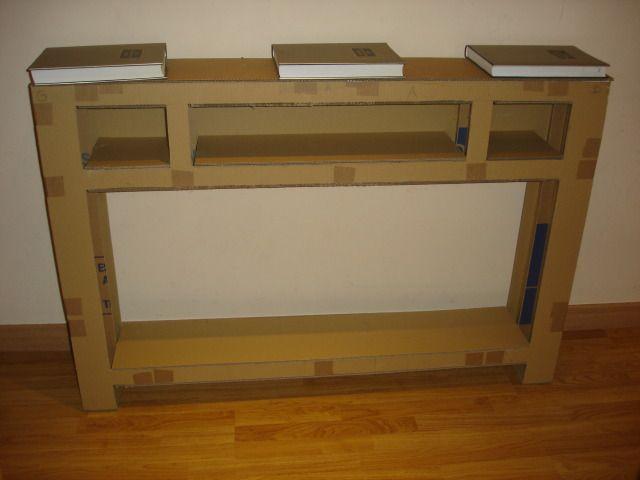 Muebles de carton reciclado paso a paso buscar con - Muebles de carton ...