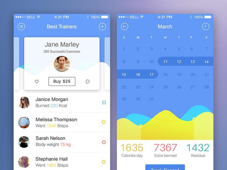 Health App by Sergey Vlastjuk