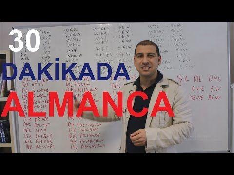 ALMANCA: 30 DAKİKADA ALMANCA (DÜNYANIN EN İYİ ALMANCA ÖĞRETMENİ) - YouTube