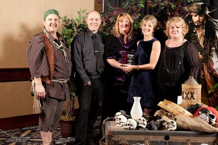 We won the Retail Excellence Award for 2011!