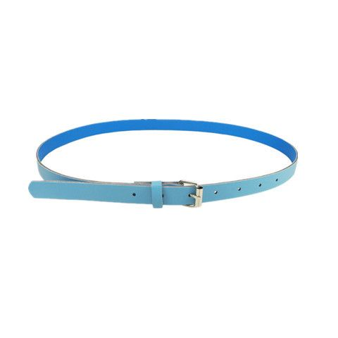 New Fashion Women's Leather Belts Thin Telt Candy Color