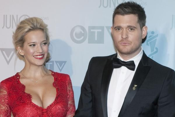 """Luisana Lopilato gave an update on Noah, her 3-year-old son with Michael Bublé, at a press conference for her movie """"Those Who Love, Hate."""""""