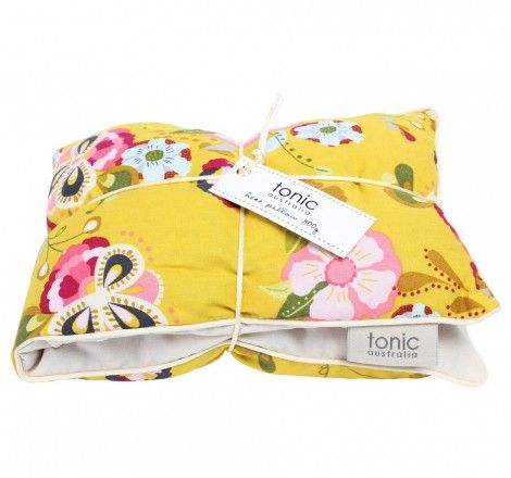 These Tonic heat pillows are great to help de-stress after a hectic day at work or strenuous activities. Made from 100% cotton and the inside filled with locally sourced barley and lavender. The barley will help ease muscle tension as the lavender will help calm the mind and soul. Simply lay flat in the microwave for 2 minutes, sit back and relax!  $34.95