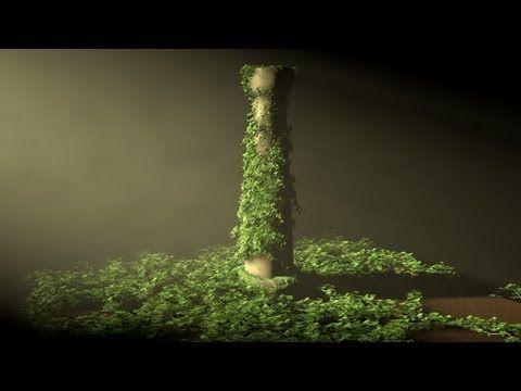Tutorial Cinema 4D : Ivy Grower Plugin - YouTube