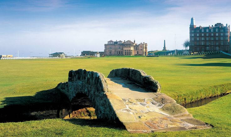 St Andrews Old Course - host of the Ricoh Women's British Open 2013