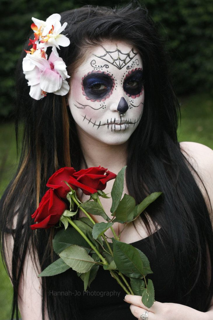 Amazing 1000 Images About Day Of The Dead On Pinterest Short Hairstyles For Black Women Fulllsitofus