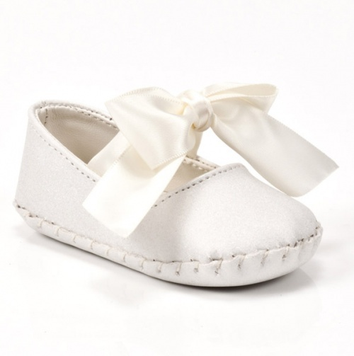 Satin Bow Shoe Baby Deer Footwear Chaussure Chausson
