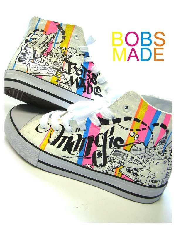 50 best fashion diy shoes painting images on pinterest for Diy shoes design
