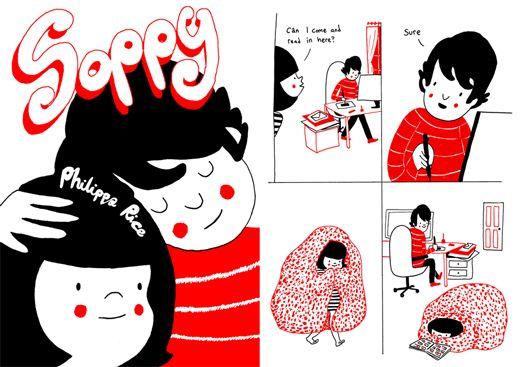 Soppy – gíria britânica para se referir ao piegas e sentimentalismo