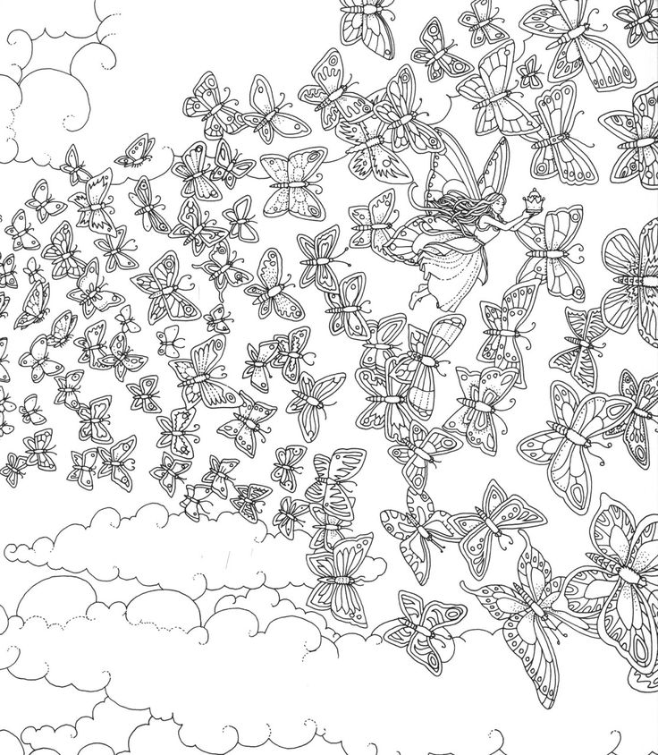 Coloring pages image by Beth Conroy on COLORFAIRIES