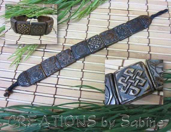 Vintage Irish Bracelet / Keltic Celtic Gaelic by CREATIONSbySabine, $14.00