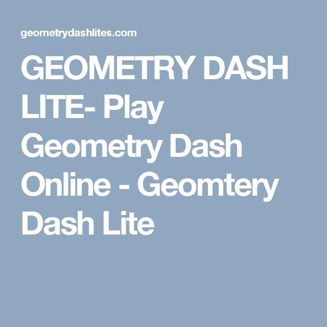 GEOMETRY DASH LITE- Play Geometry Dash Online - Geomtery Dash Lite