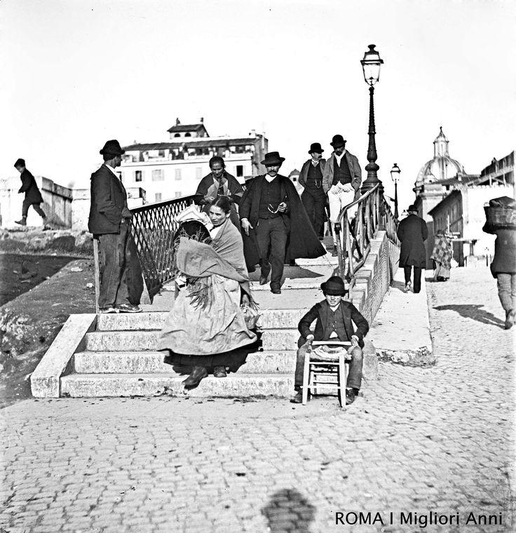 Ponte Sisto 1890