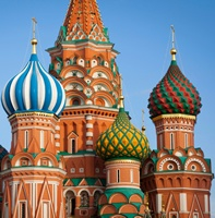 The beautiful city of Moscow