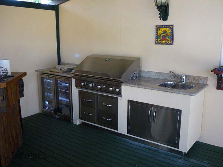 Alfresco Kitchen Example 183 By Infresco Outdoor Kitchen Cabinetsbarbecues Perthmelbourne