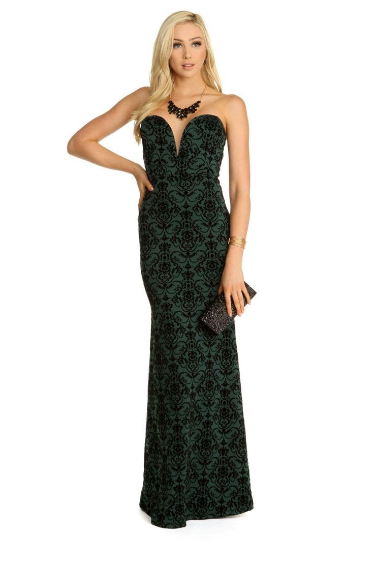 Final Sale- Julia Hunter Vintage Velvet Brocade Dress