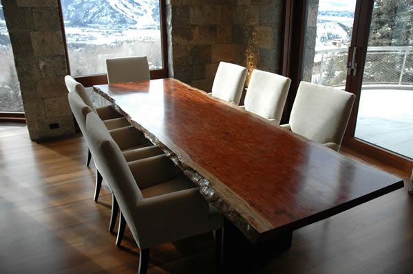 14 best images about custom made dining tables on for Custom made marble dining tables