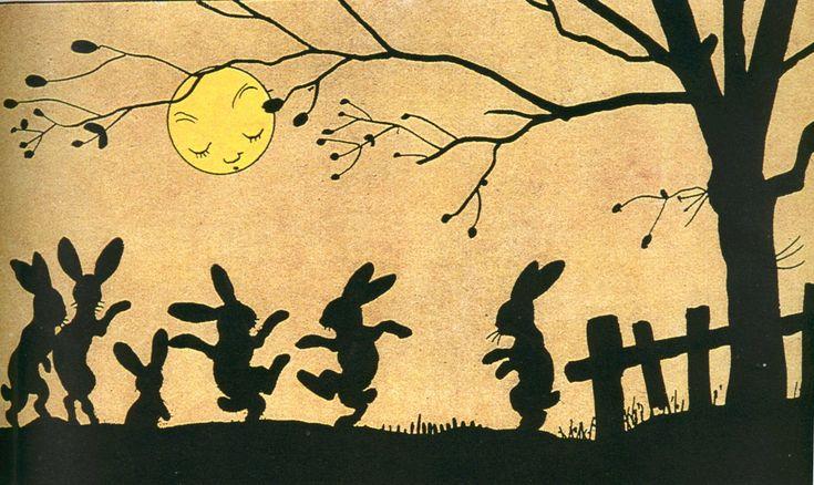 bunnies - clair de lune