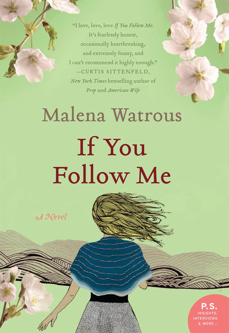 #IfYouFollowMe is the #stunning #debut novel from author #MalenaWatrous. It tells the #story of #Marina, who moves to #Japan to teach #English shortly after her #father's tragic #suicide, and finds #unexpected solace with her #Japanese #supervisor and #seemingly indifferent #neighbors.