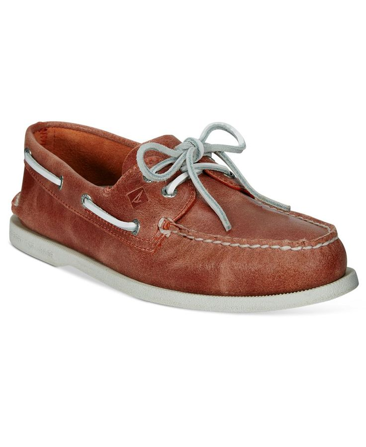 Sperry Men's White Cap Boat Shoes