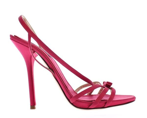 Pink Silk Blend Sandals High Heel Shoes Dolce & Gabbana  MOM10604  €238.00 ///Was €594.00