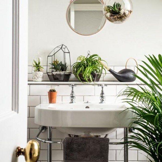 50 besten Badezimmer einrichten \/\/ Badezimmer Deko Bilder auf - moderne wohnzimmer pflanzenschlafzimmerschrank nach ma