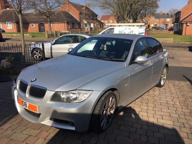 eBay: BMW 318D se 2008 M-Sport Damged Repairable #carparts #carrepair