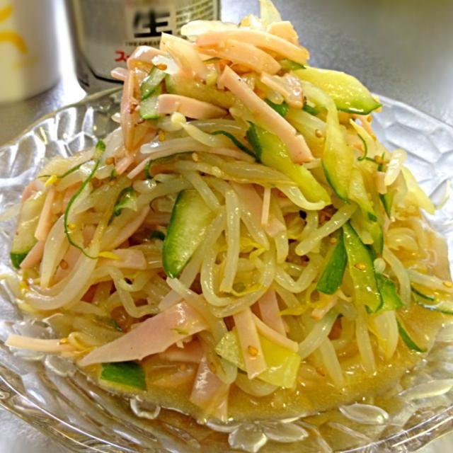たっぷり作ってプラス1品に☆ よーく冷やしてから、シャクシャク頂きます♪ http://maruta.be/yumyumy1/110 - 84件のもぐもぐ - もやしの中華サラダです。ごまの香りとシャキシャキ感を楽しんで☆ by yumyumy1