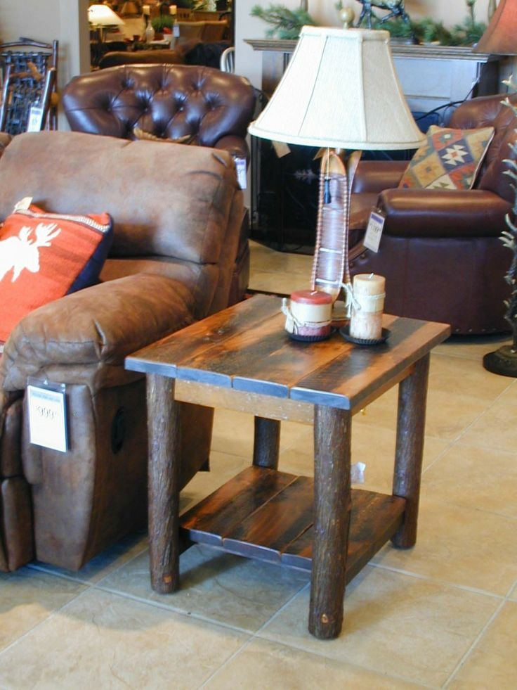 10 Best Rustic Lodge And Cabin Coffee End And Sofa Tables